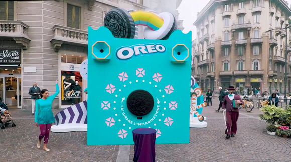 Foto News - Biscotto Oreo Wonder Tour itinerante